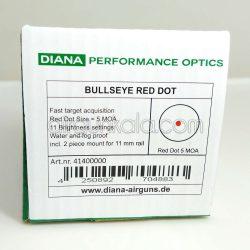رد دات 1x30 دیانا به همراه پایه دوربین 11 میلیمتری