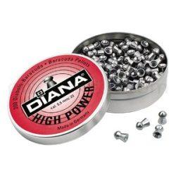 ساچمه تفنگ بادی دیانا های پاور 5.5|200|21.14<br>Diana High Power Pellets