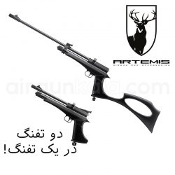 تپانچه + تفنگ گازی CP2