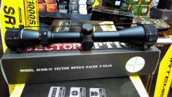 دوربیین تفنگ بادی وکتور پیسر 40*9-3<br>Vector Pacer 3-9x40 Rifle Scope