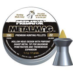 ساچمه تفنگ بادی Predator متال مگ 5.5|200|17
