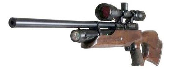 تفنگ بادی وایرخ ۱۰۰ تامهول فول شرود<br>Weihrauch HW100 T F.S.B