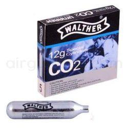 کپسول ۱۲ گرمی Co2 والتر ۵ عددی<br>Walther 12g Co2 Cylinder