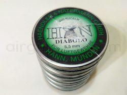 ساچمه تفنگ بادی اچ اند ان دیابلو 5.5|200|13 | H&N Diabolo Pellets