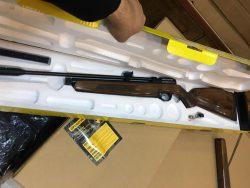 تفنگ گازی آرتمیس سی آر ۶۰۰ دبلیو رنگ قنداق یشمی   Artemis CR600W CO2 Air Rifle