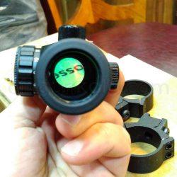 رد دات 1x30 دیانا به همراه پایه دوربین 11 میلیمتری | Diana 1x30 Red Dot with 11mm Mounts