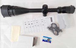 دوربین تفنگ بادی سنتر پوینت 50*24-6   Center Point 6-24x50 Rifle Scope with Light and Parallax