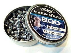 ساچمه تفنگ بادی والتر ماکسیماتور 5.5|200|21.14 | Walther Maximathor Pellets