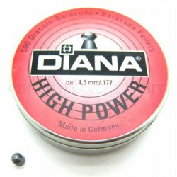 ساچمه تفنگ بادی دیانا های پاور 4.5|500|10.64<br>Diana High Power Pellets
