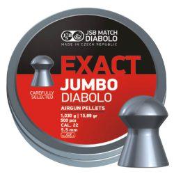 ساچمه تفنگ بادی جی اس بی اگزکت جامبو 5.5|500|15.89<br>JSB Exact Jumbo Pellets