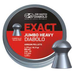 ساچمه تفنگ بادی جی اس بی اگزکت جامبو هیوی 5.5|500|18.13<br>JSB Exact Jumbo Heavy Pellets