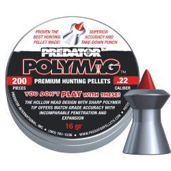 ساچمه تفنگ بادی پریدیتور پلی مگ 5.5|200|16 | Predator Polymag Pellets