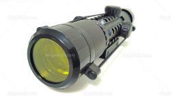 دوربین تفنگ بادی تاکتیکال چراغدار 2-6*28 | 2-6x28 Rifle Scope