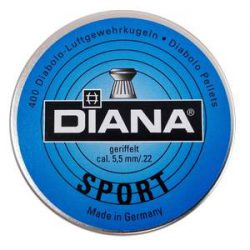 ساچمه تفنگ بادی دیانا اسپورت 5.5|400|13.73<br>Diana Sport Pellets