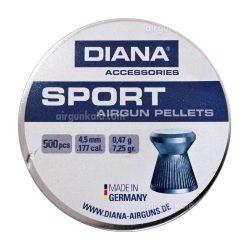 ساچمه تفنگ بادی دیانا اسپورت  4.5|500|7.25<br>Diana Sport Pellets
