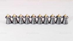 ساچمه تفنگ بادی اچ اند ان هورنت 5.5|200|16.20<br>H&N Hornet Pellets