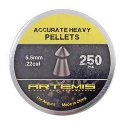 ساچمه تفنگ بادی آرتمیس اکیوریت هیوی 5.5|250|21.6<br>Artemis Accurate Heavy Pellets