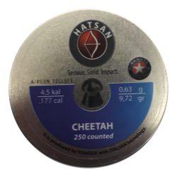 ساچمه تفنگ بادی هاتسان چیتا 4.5|250|9.72 | Hatsan Cheetah