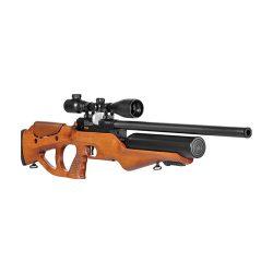 تفنگ بادی نیمه اتوماتیک هاتسان براژ طرح چوب<br>Hatsan Barrage W semi Automatic PCP Air Rifle