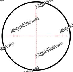 دوربین هاوک سایدوایندر 6.5-20x42 رتیکل نیم میلدات حک شده   Hawke Sidewinder 6.5-20x42 HALF MIL DOT RETICLE