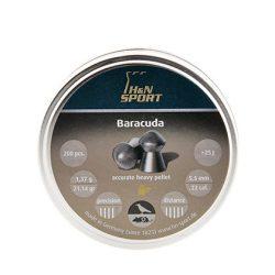 ساچمه اچ اند ان باراکودا 5.5|200|21.14 | H&N Baracuda Pellets
